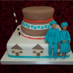 Yvonne Couture Cakes:  Afro-theme