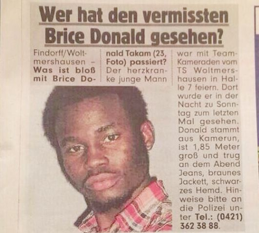 Donald Takam Brice 23