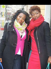 CK Diamond of Presema and Antonia Mundi of Maischna Magazine