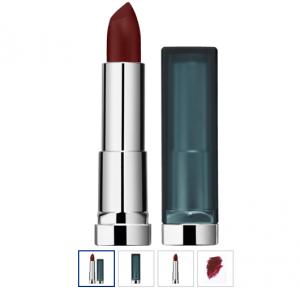 Lippenstift Color Sensational Creamy Matt burgundy blush 978, 4,4 g