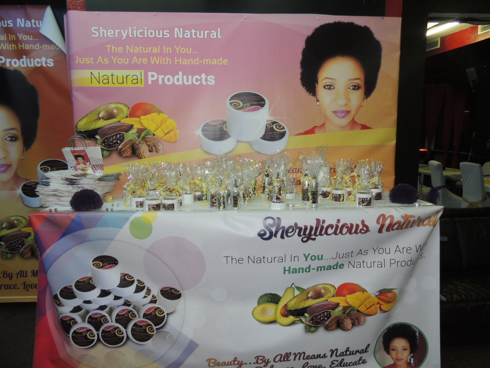 Sherylicious Natural Hair Product Launch