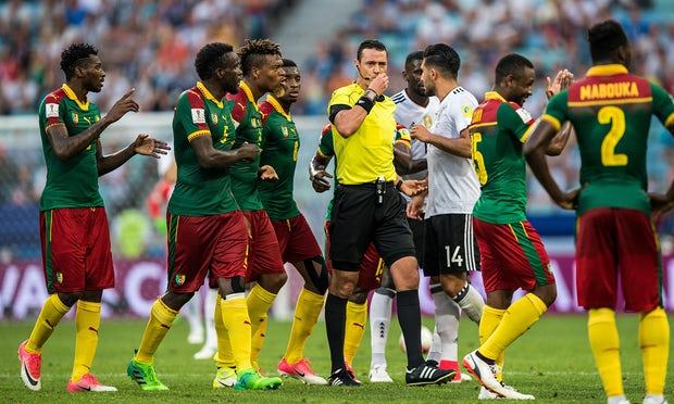 Cameroon's Lions Regretfully Leave The Confederations Cup Competition