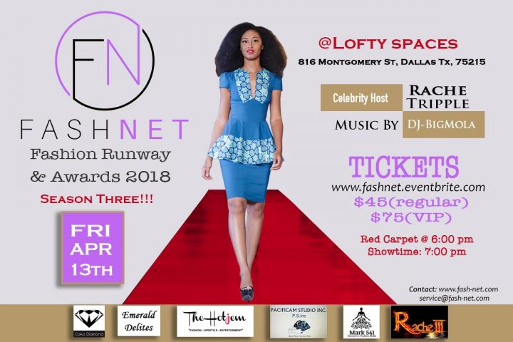 Fashnet Runway & Awards 2018 Dallas