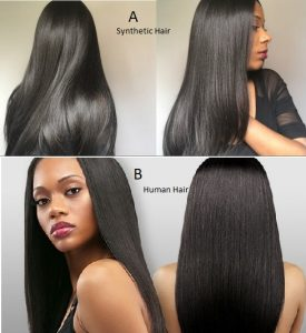 Results of Human Hair vs. Synthetic Hair