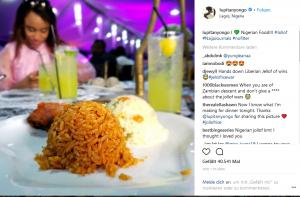Jellof Rice lupita Nyyongo